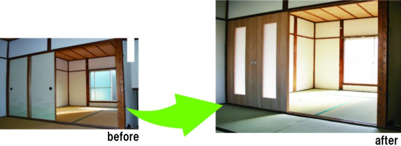 ふすまの枠さえあれば、簡単に設置できるDIY建具「ふすまリフォームドア」商標取得のお知らせ