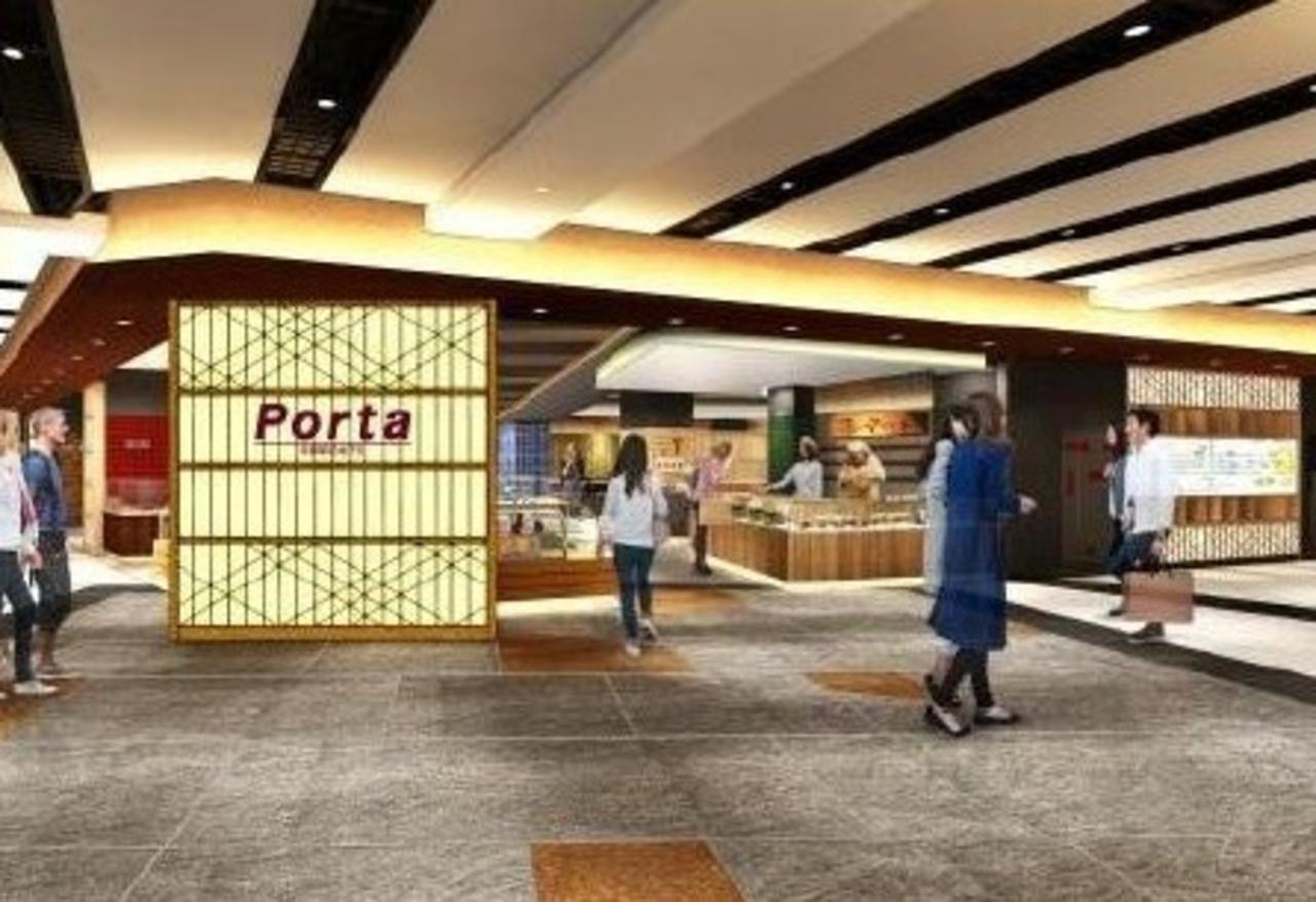京都駅前地下街ポルタ「東エリア」3月20日全面リニューアルオープン!