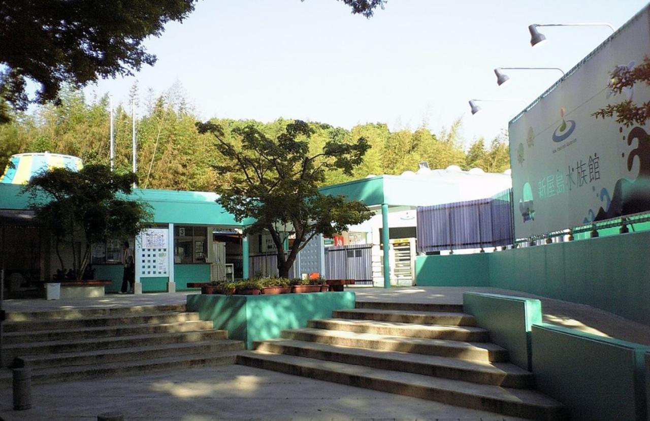 山のてっぺん、水中さんぽ...香川県高松市屋島東町の「新屋島水族館」