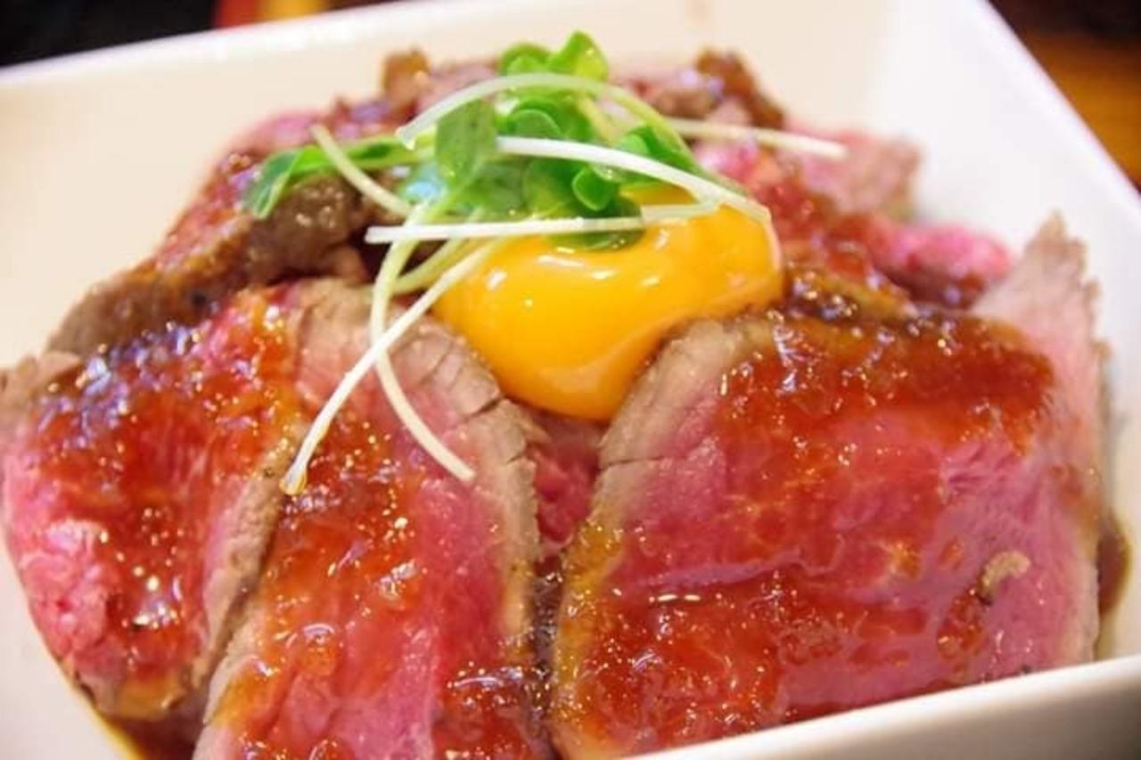 再び絶品ローストビーフ丼を食らう!