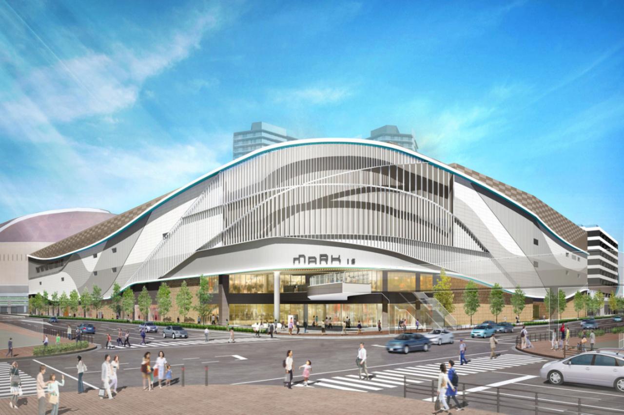 ヤフオク!ドーム隣接の天神以西最大規模商業施設「マークイズ福岡ももち」11月21日オープン!