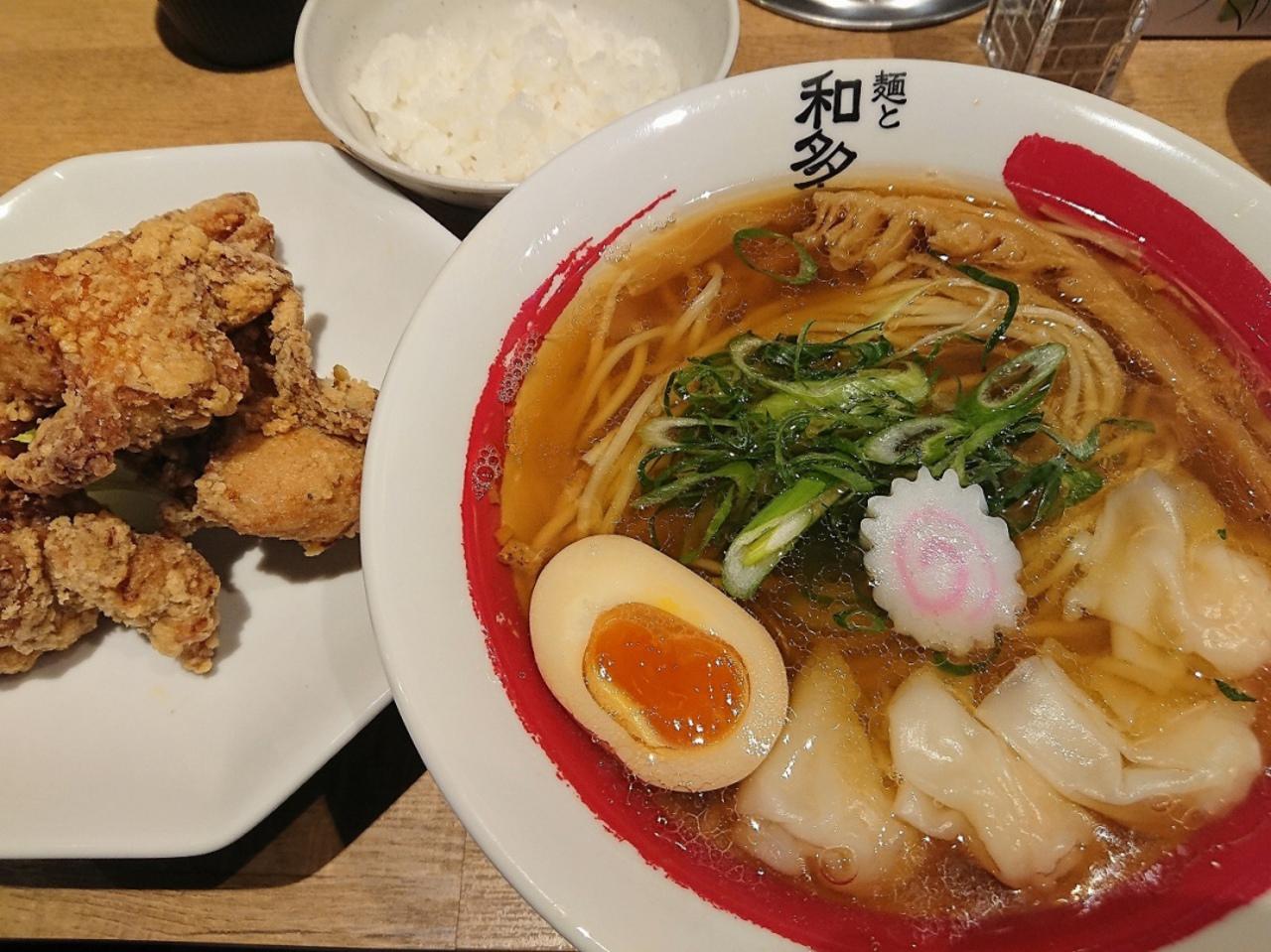 上新庄駅南口近くにオープンされた『麺と和多志』に行ってきました。。。