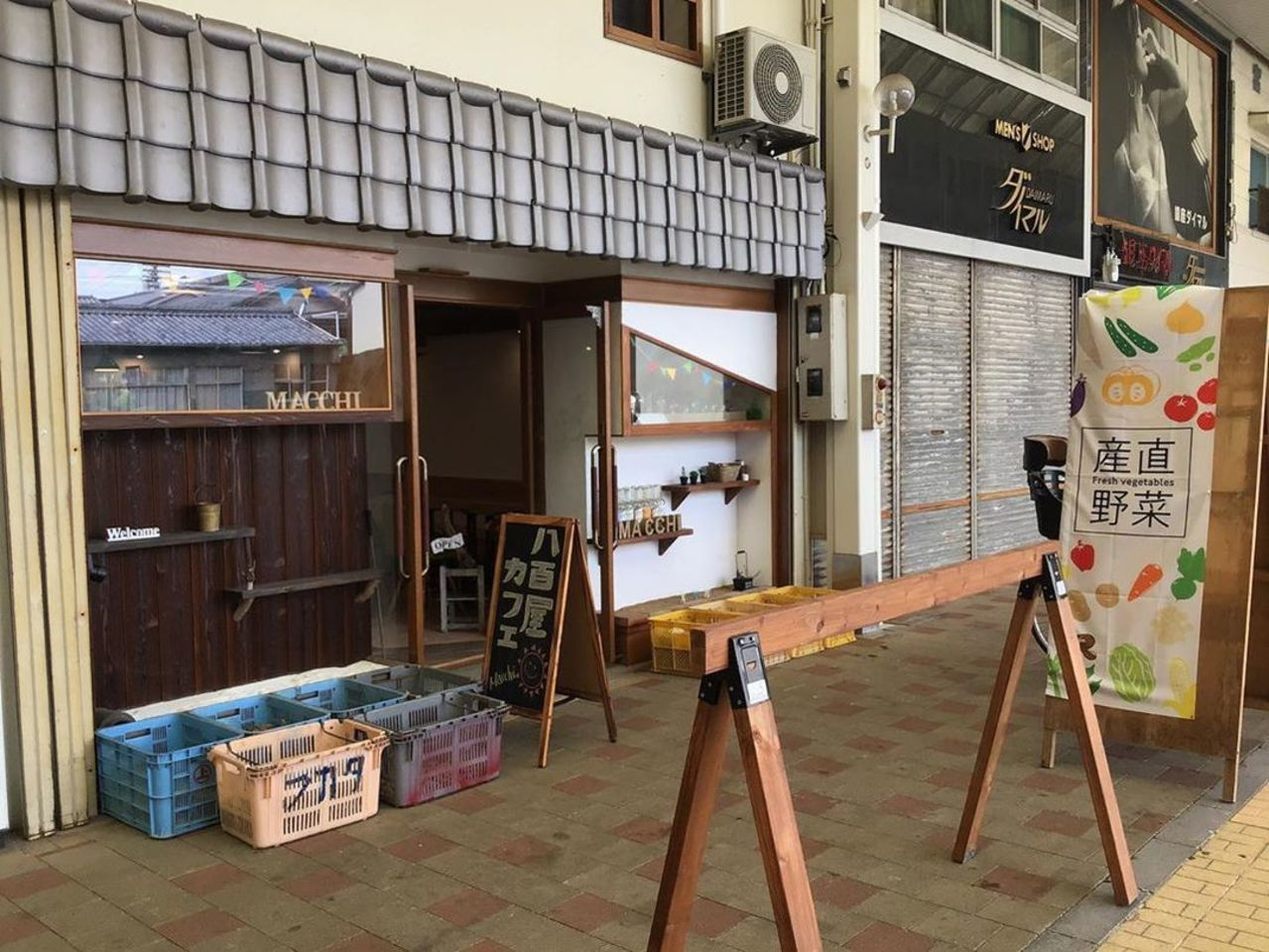 愛媛県今治市常盤町2丁目に「八百屋カフェMACCHI」が7/3リニューアルオープンされたようです。