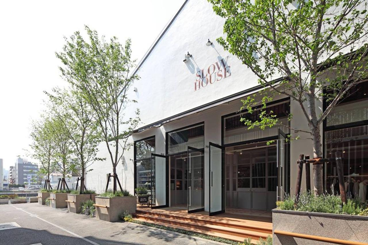 【 SLOW HOUSE 】レストラン併設のライフスタイルショップ(東京都品川区)