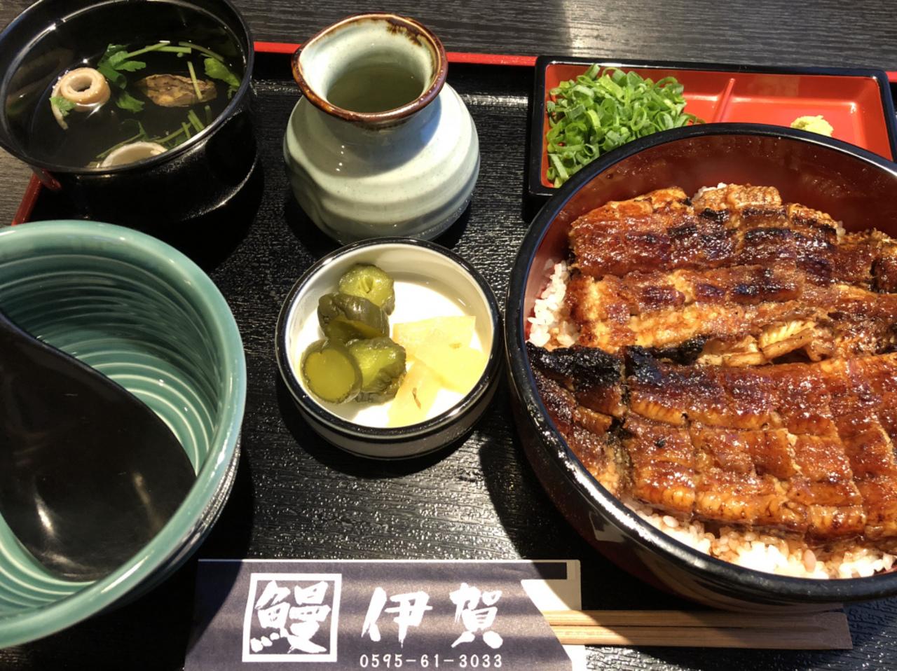 「炭焼き 鰻 伊賀 」に行って来ました。