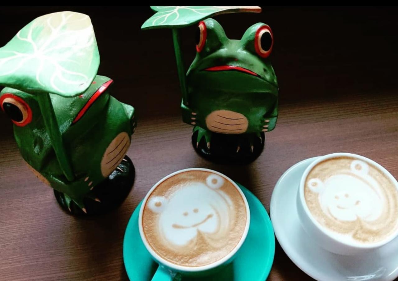 エスプレッソが主軸...加古川市野口町良野に『かえるカフェ』12/24グランドオープン