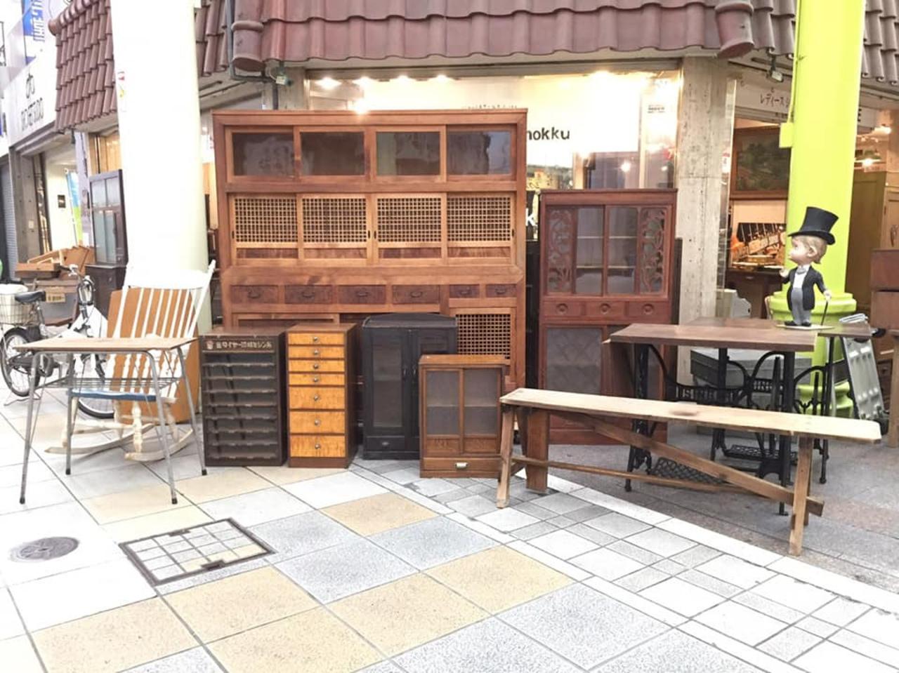 【 古道具mokkumokku 】家具・食器・生活雑貨販売(岐阜県岐阜市)