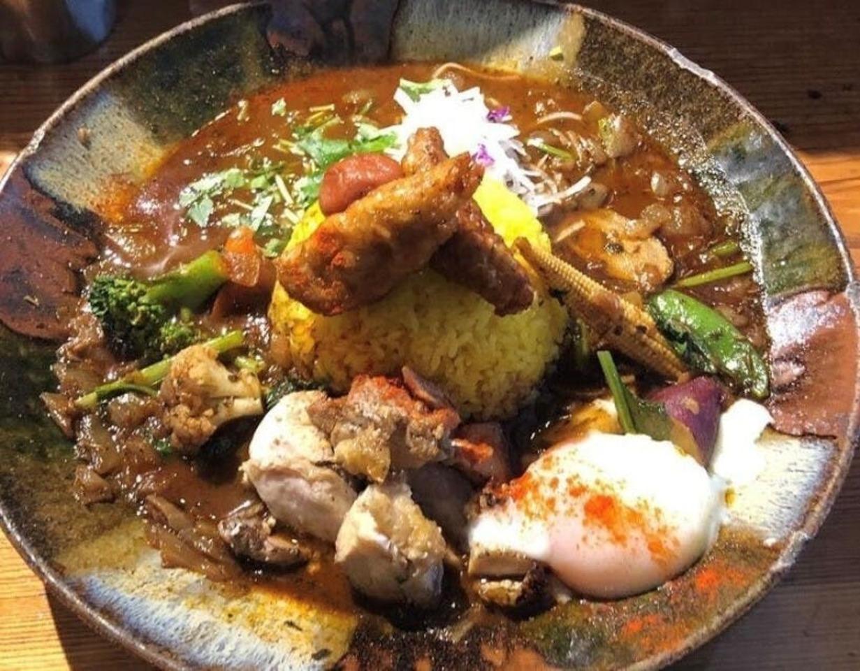 岡山県岡山市東区古都南方に「スープカレーなっぱ」が昨日オープンされたようです。