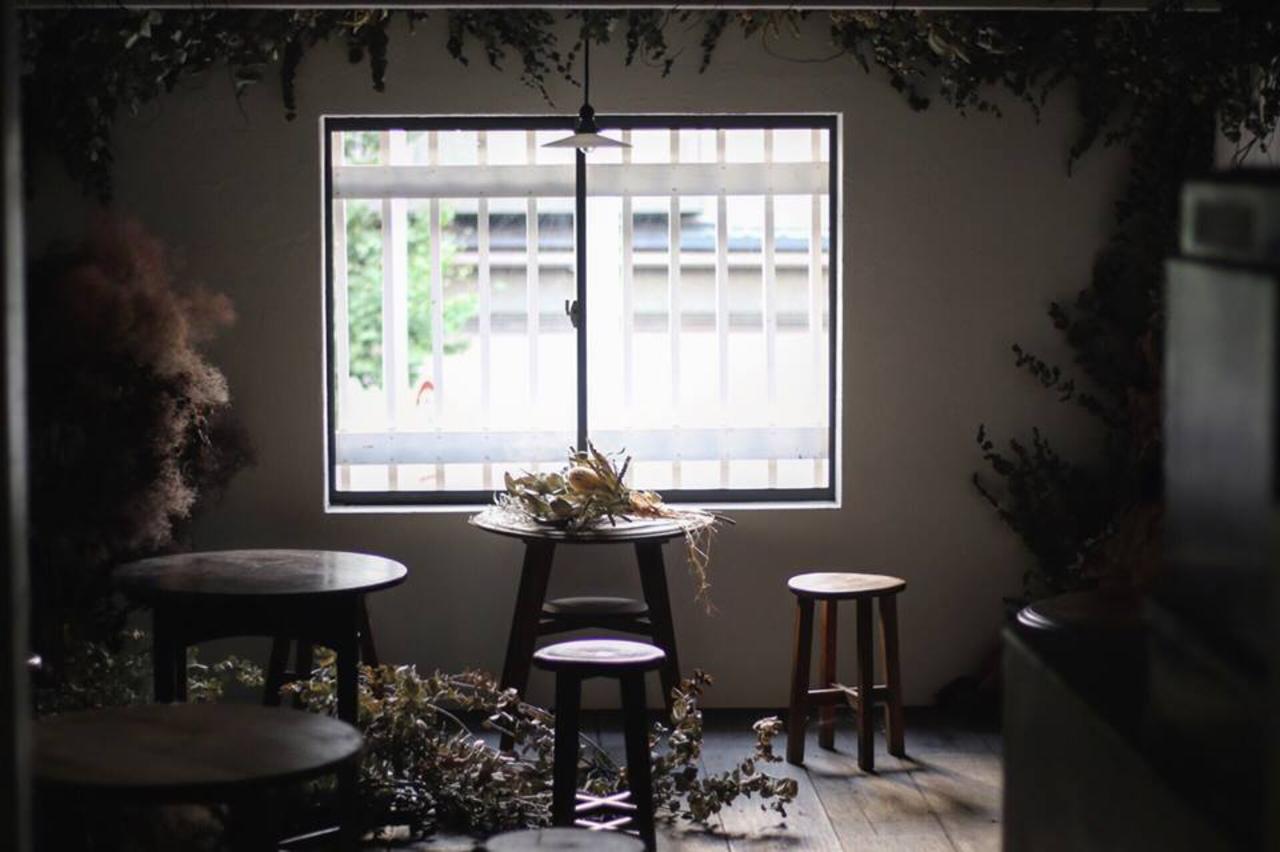花のある暮らし...左京区一乗寺樋ノ口町にドライフラワーとカフェ『カシェット』プレオープン