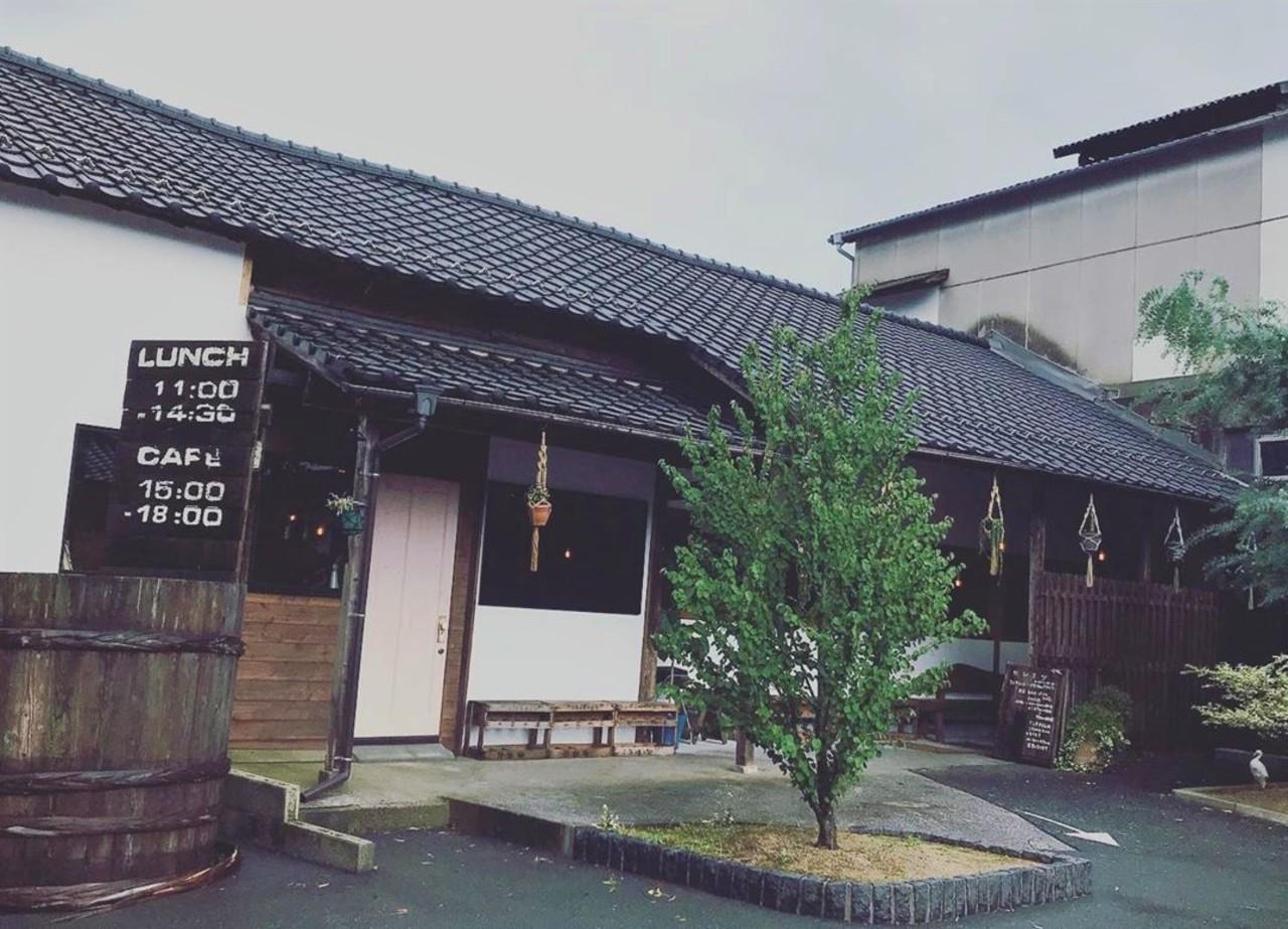 創業100年の歴史ある醤油蔵をカフェレストランに。。福岡県田川郡添田町大字添田の『ヒシミツ』