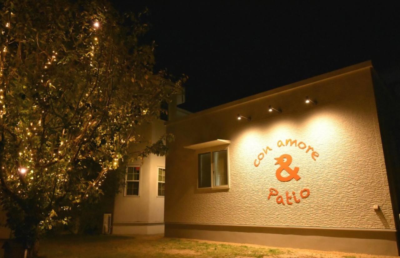 津山市押入のコンアモーレ敷地内にガーデンカフェ『アンドパティオ』本日オープン。