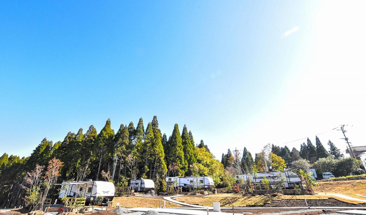 熊本県阿蘇市のアウトドアリゾート『フランピングヴィレッジ阿蘇』3/1GrandOpen