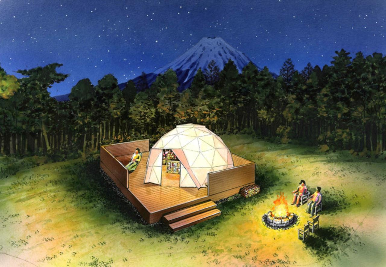 富士河口湖町にアウトドアリゾート「ピカ フジヤマ」7月20日オープン!