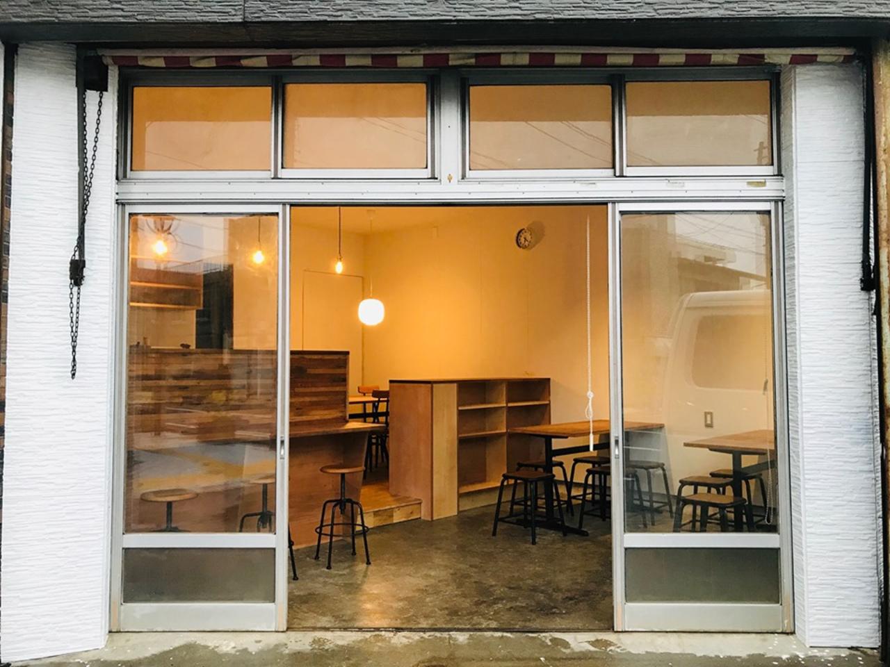 いろいろ実験...鹿児島県出水市の本町通り商店街に「すみとカフェ」プレオープン