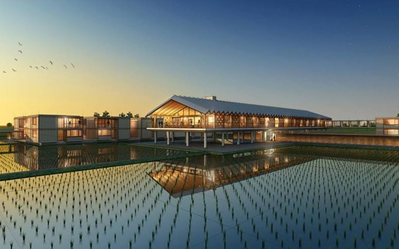 田園に優しく浮かぶ「SHONAI HOTEL SUIDEN TERRASSE」8月1日プレオープン!