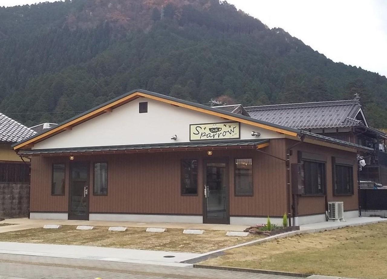 兵庫県朝来市生野町口銀谷に「カフェスパロー」が1/11オープンされたようです。