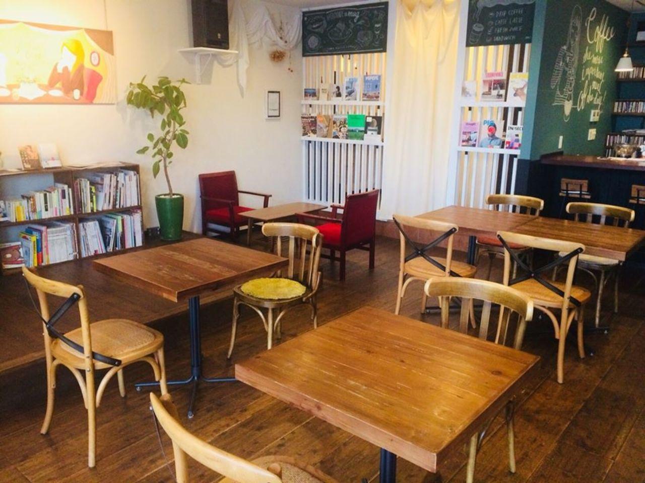 芸術溢れる癒しの空間のカフェ。。岡山県倉敷市玉島爪崎の『マグ』