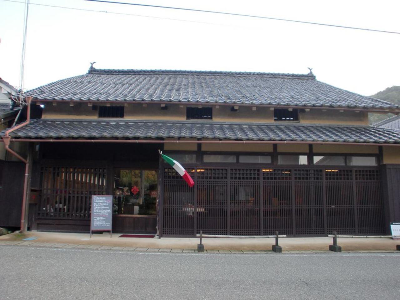 古民家のイタリア家庭料理店...兵庫県篠山市福住の「トラットリア アル ラグー」