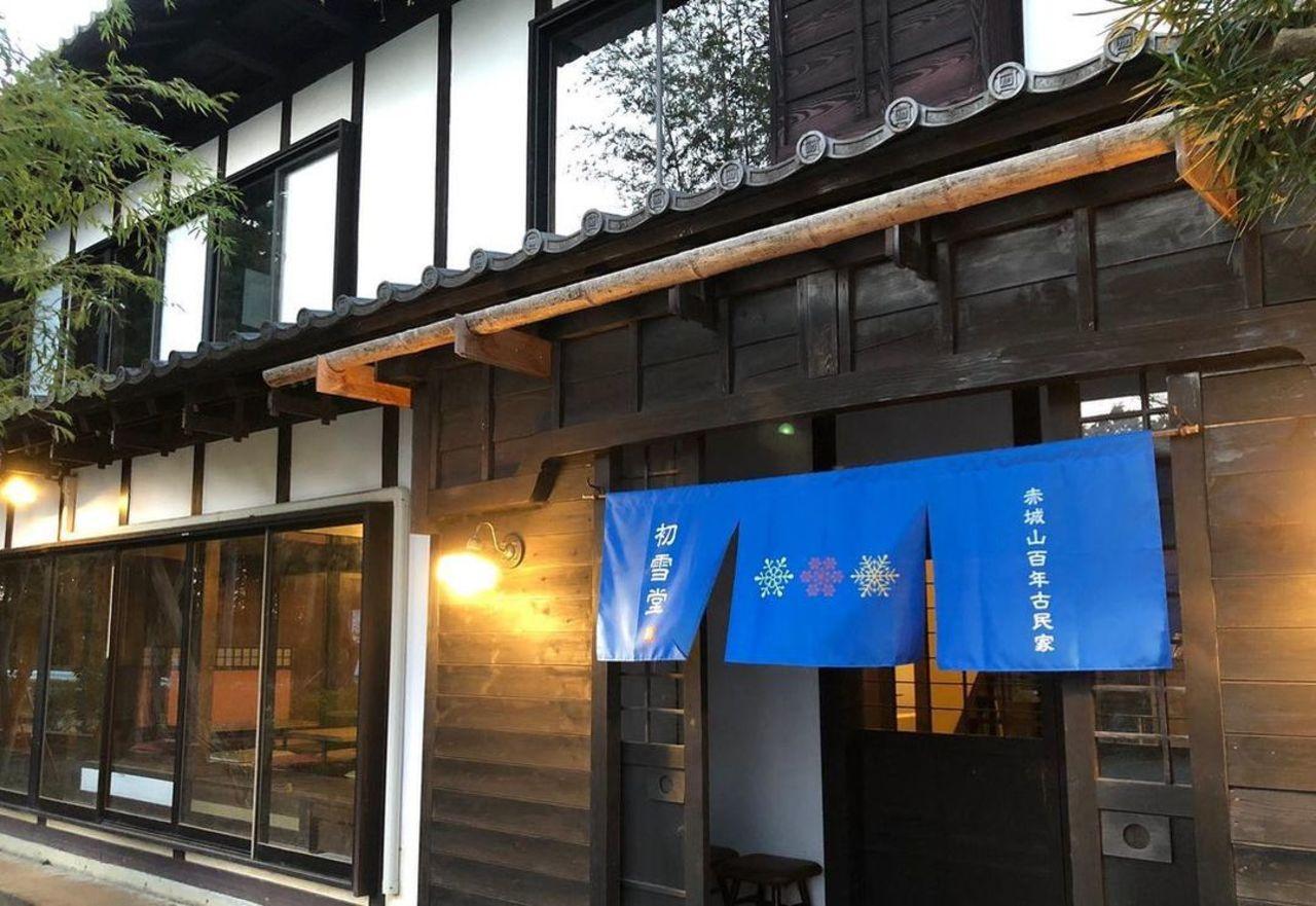 祝!4/20open『初雪堂』かき氷専門店(群馬県前橋市)