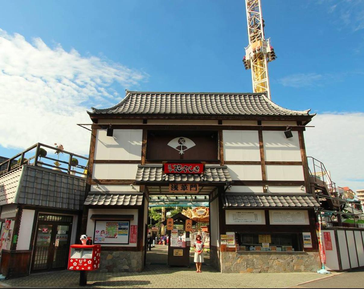 1853年開園した日本最初の遊園地...東京都台東区浅草の「浅草花やしき」