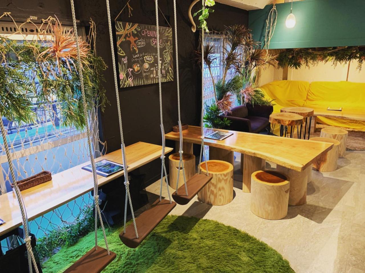 吉祥寺の隠れジャングル...東京都武蔵野市吉祥寺本町に「ジャングルダイニングサル吉祥寺店」オープン