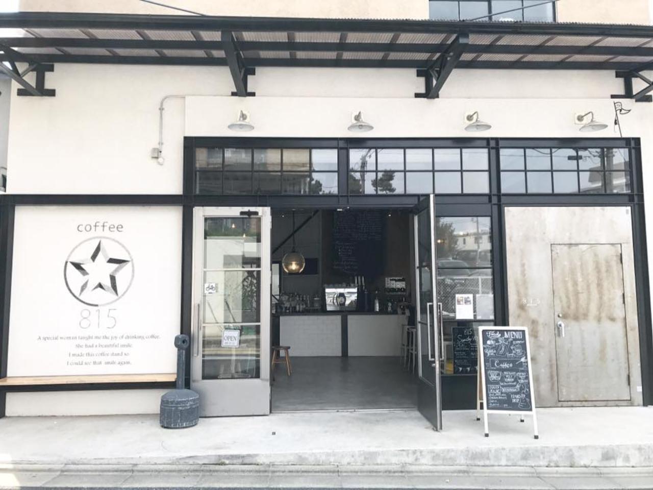 倉庫を改装...東京都世田谷区弦巻4丁目の「ハチイチゴ コーヒー スタンド」