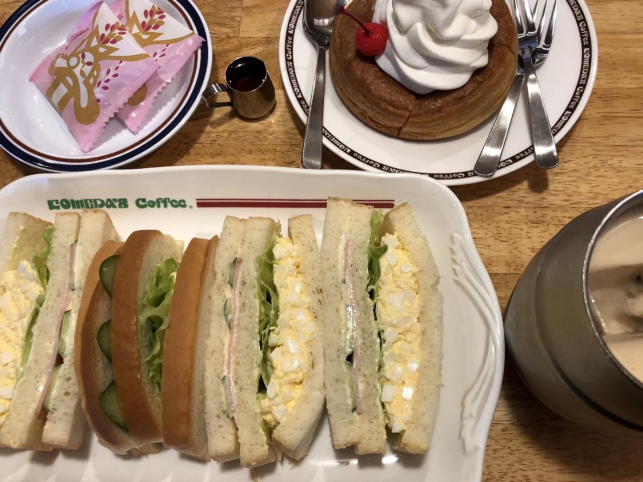 コメダ珈琲店でお食事。。