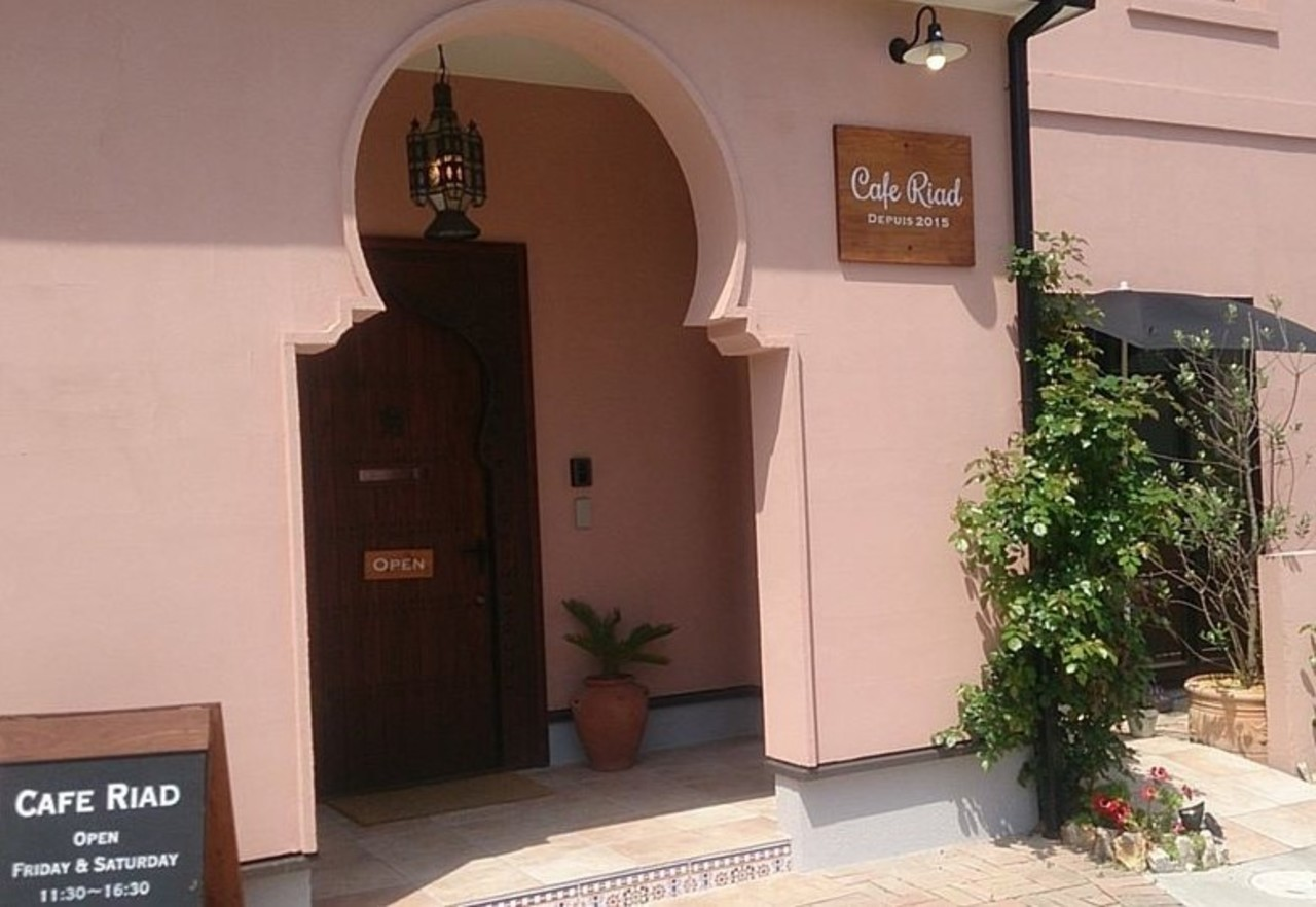 モロッコスタイルのカフェ。。静岡県掛川市家代の里2丁目の『カフェリアド』