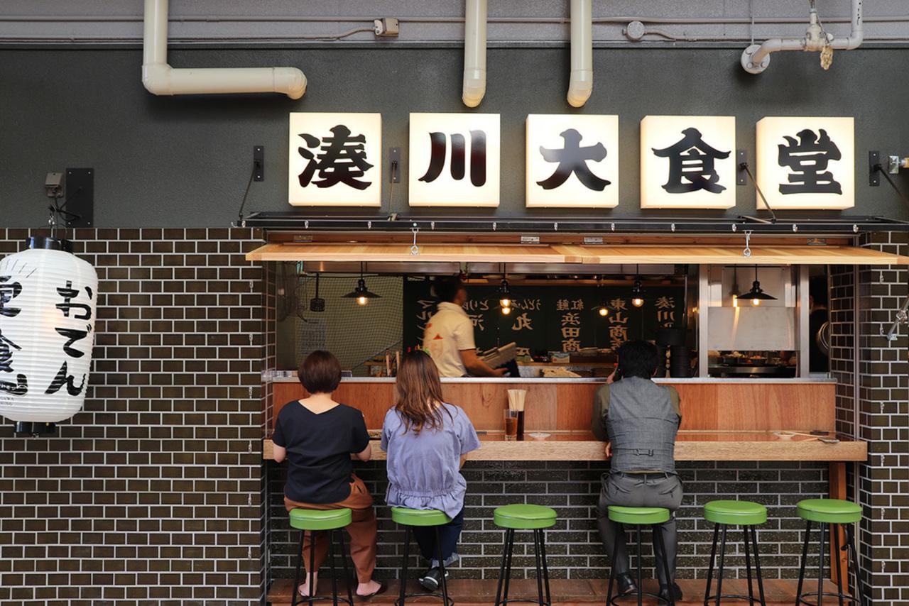 兵庫県神戸市兵庫区の湊川市場入口に「湊川いちば美食街」6月12日第一期オープン!