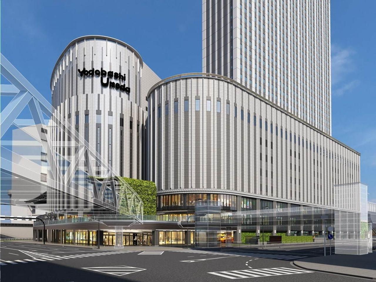 大阪駅北口に秋オープンのヨドバシ梅田タワーに商業施設「リンクス ウメダ」11月16日オープン!