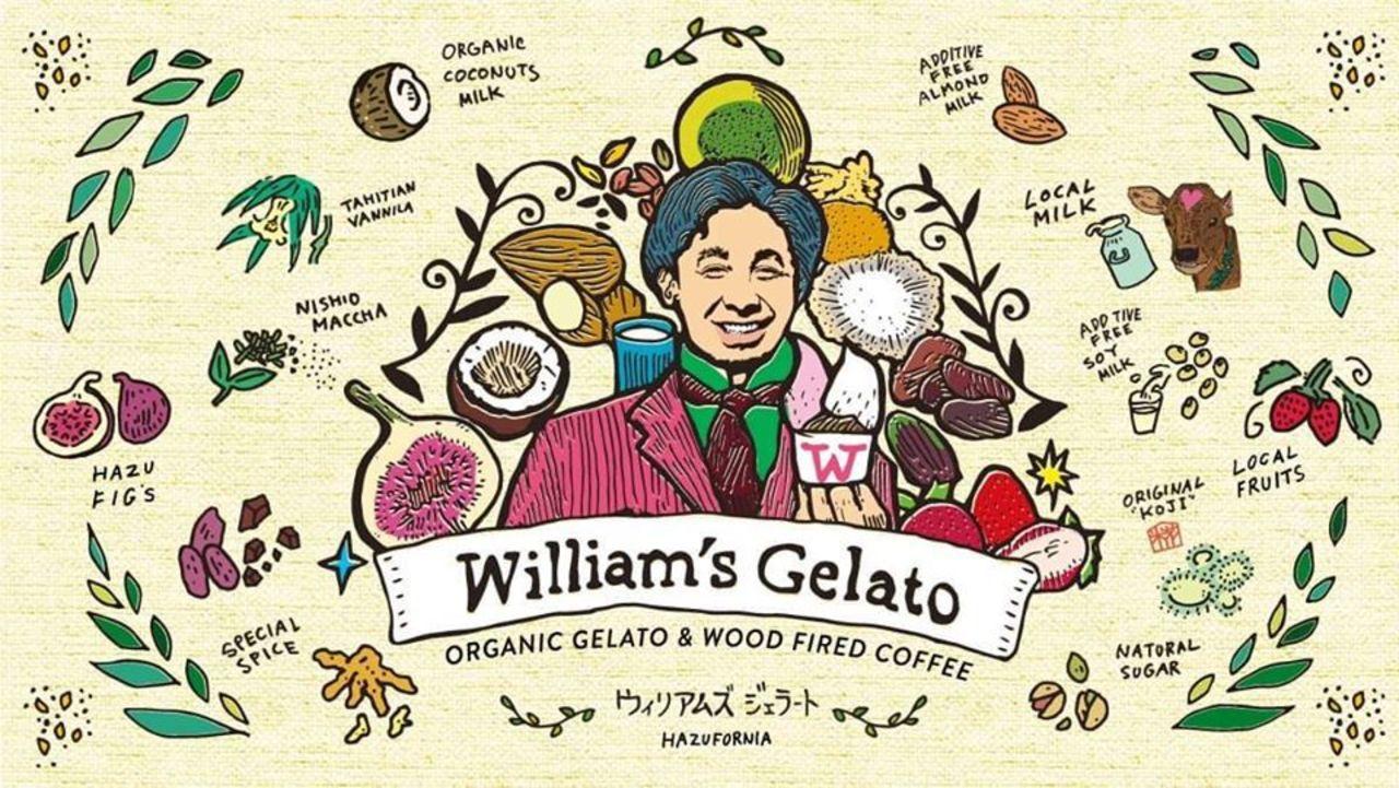 心と身体、環境が喜ぶ特別な材料。。愛知県西尾市寺部町浜田の『ウィリアムズ・ジェラート』