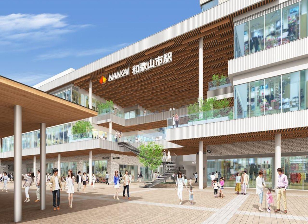 和歌山県の南海和歌山市駅直結の複合施設「キーノ和歌山」4月24日グランドオープン!
