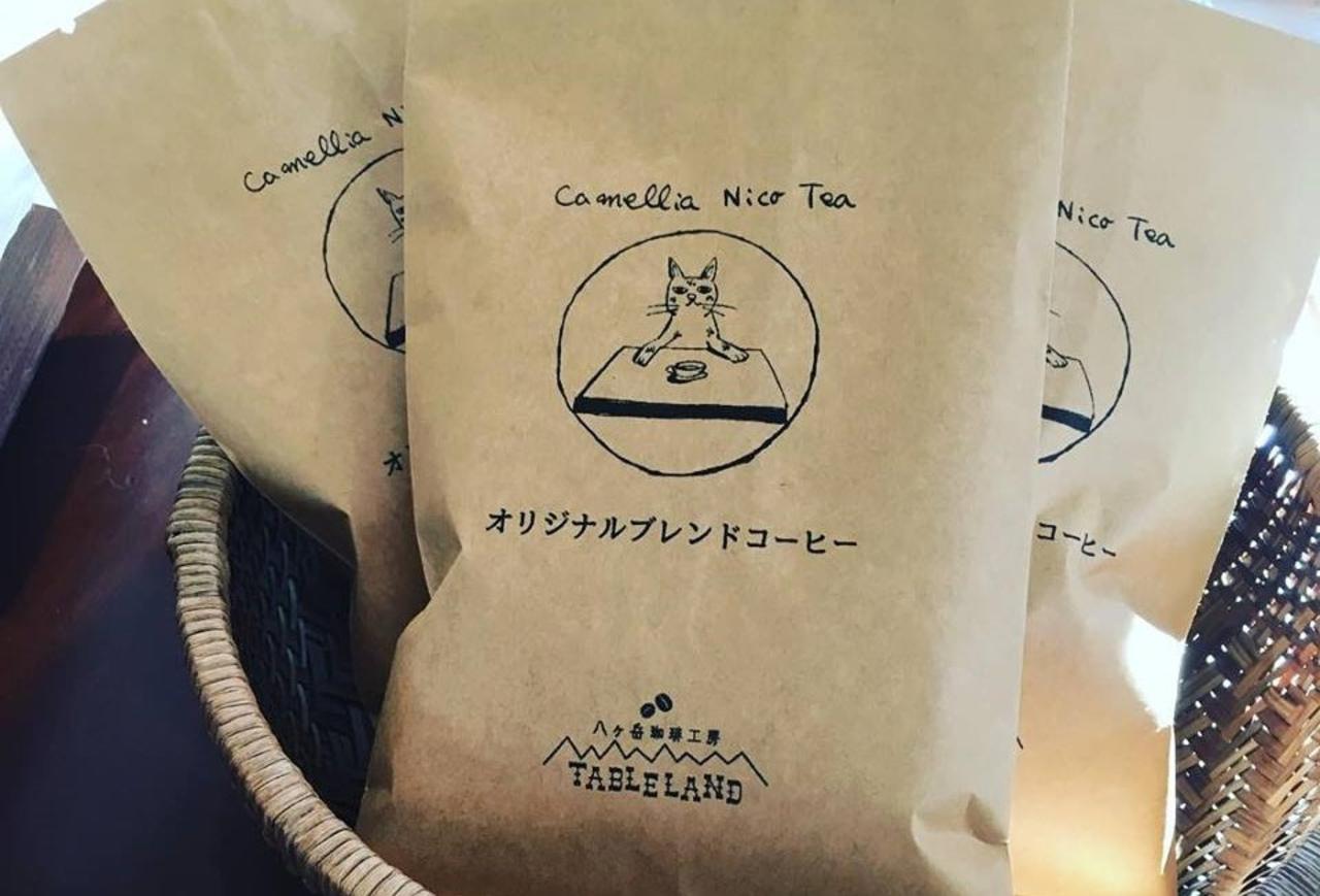 直営店オープン...長野県諏訪郡富士見町立沢にカフェ『カメリアニコティー』プレオープン