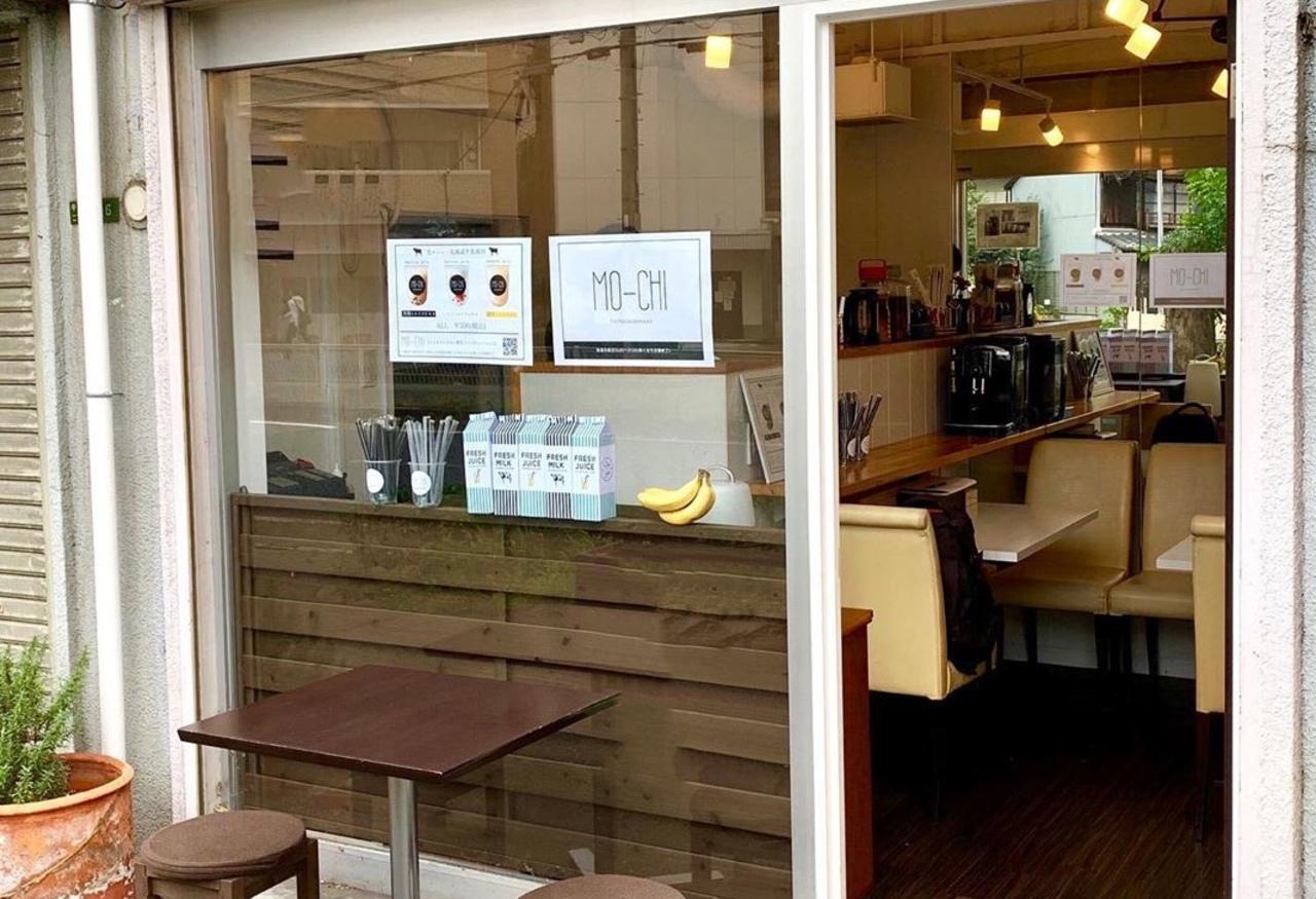 大阪市北区中崎2丁目にタピオカとバナナジュース「もーち中崎町」が昨日オープンされたようです。