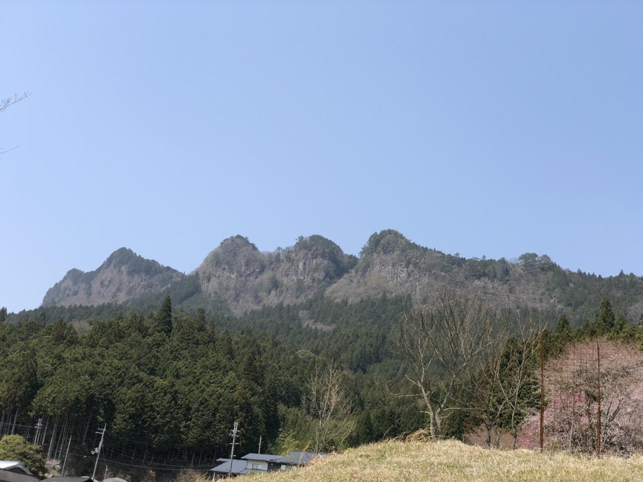曽爾村の屏風岩。。。