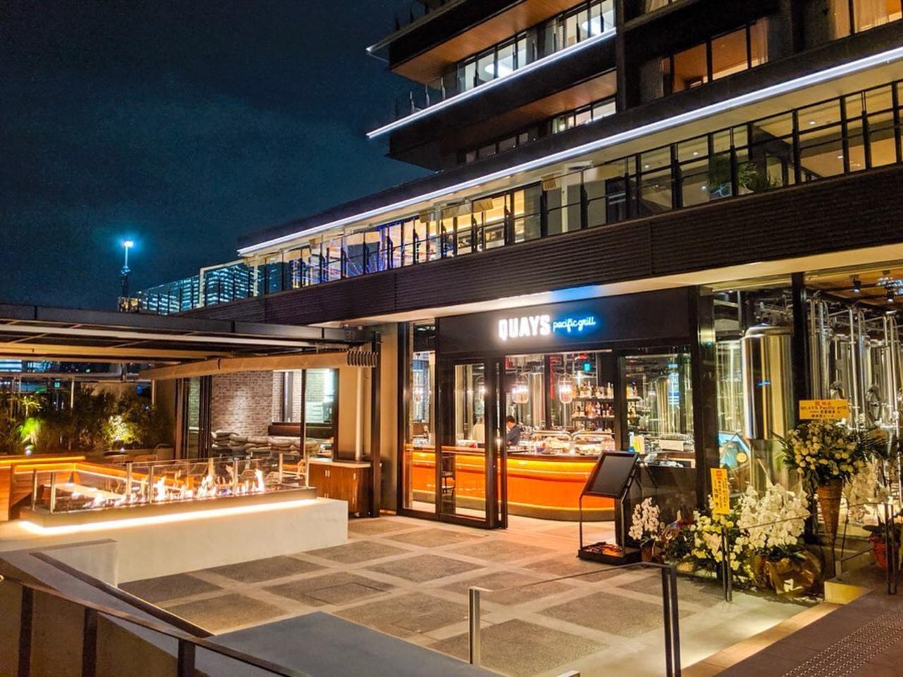 祝!10/31open『Quays pacific Grill』restaurant(横浜市中区)