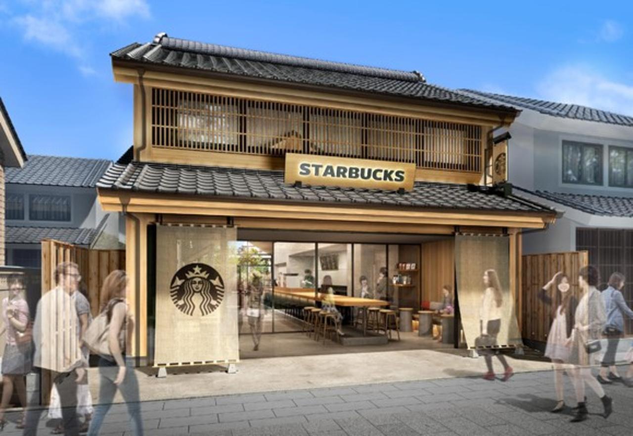 中庭のある「STARBUCKS COFFEE 川越鐘つき通り店」3月19日 GRAND OPEN!