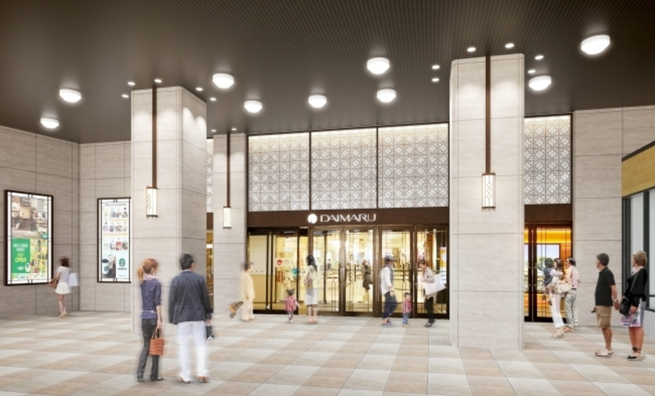 山口県下関駅前の下関大丸18年ぶり全館改装「大丸下関店」として3月23日グランドオープン!