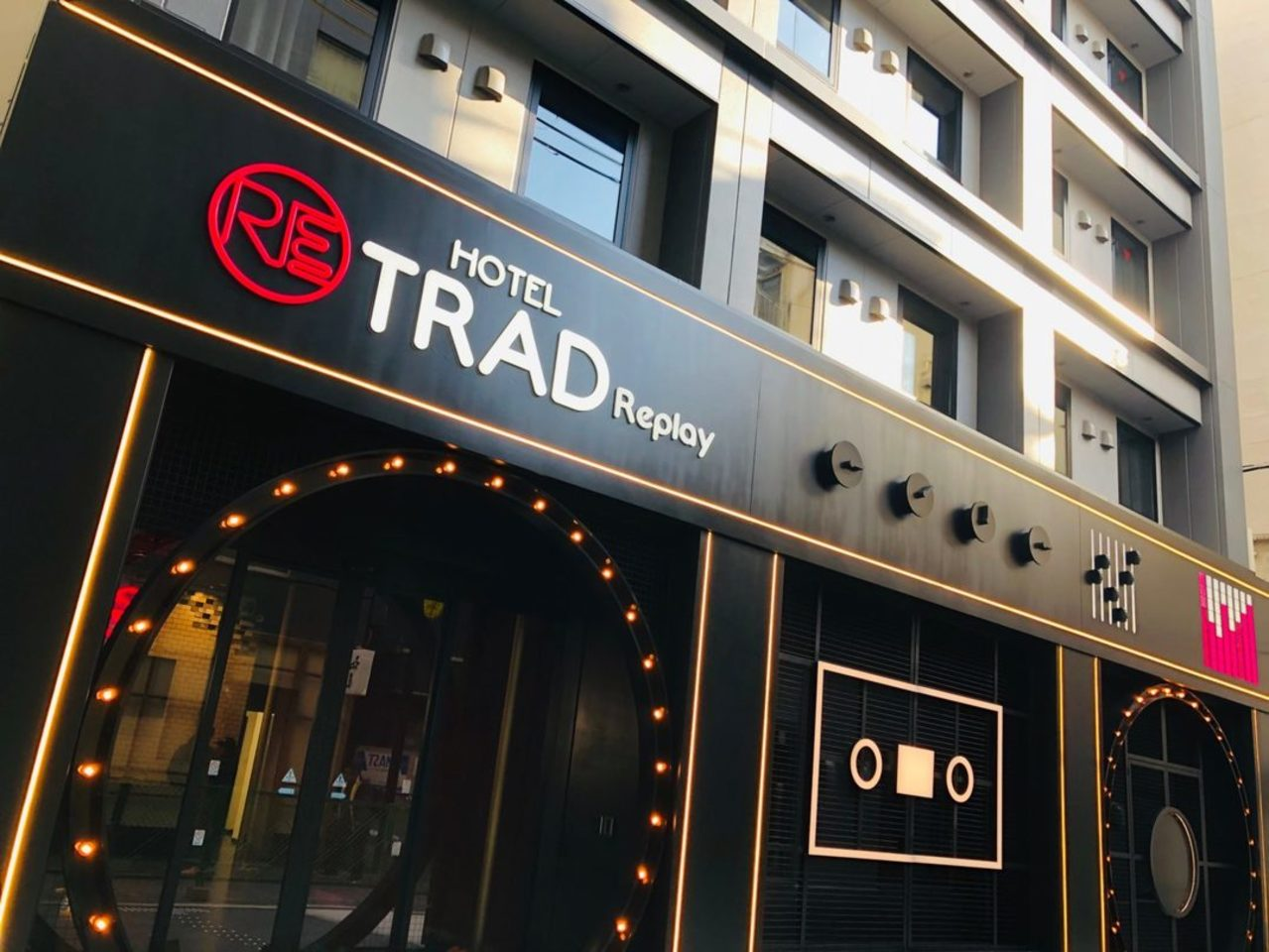 大阪市中央区の『HOTEL TRAD Replay』2019.12/24open