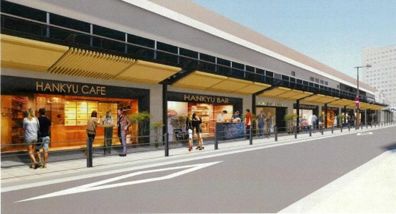 阪急梅田駅北側の高架下に新たな飲食街「茶屋町あるこ」3月28日オープン!