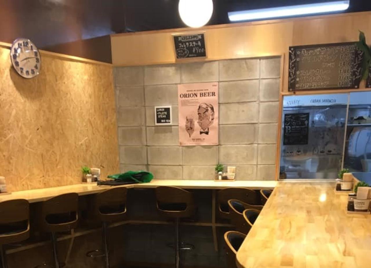 沖縄県那覇市松尾2丁目にステーキのお店「フィレテ」が本日オープンのようです。