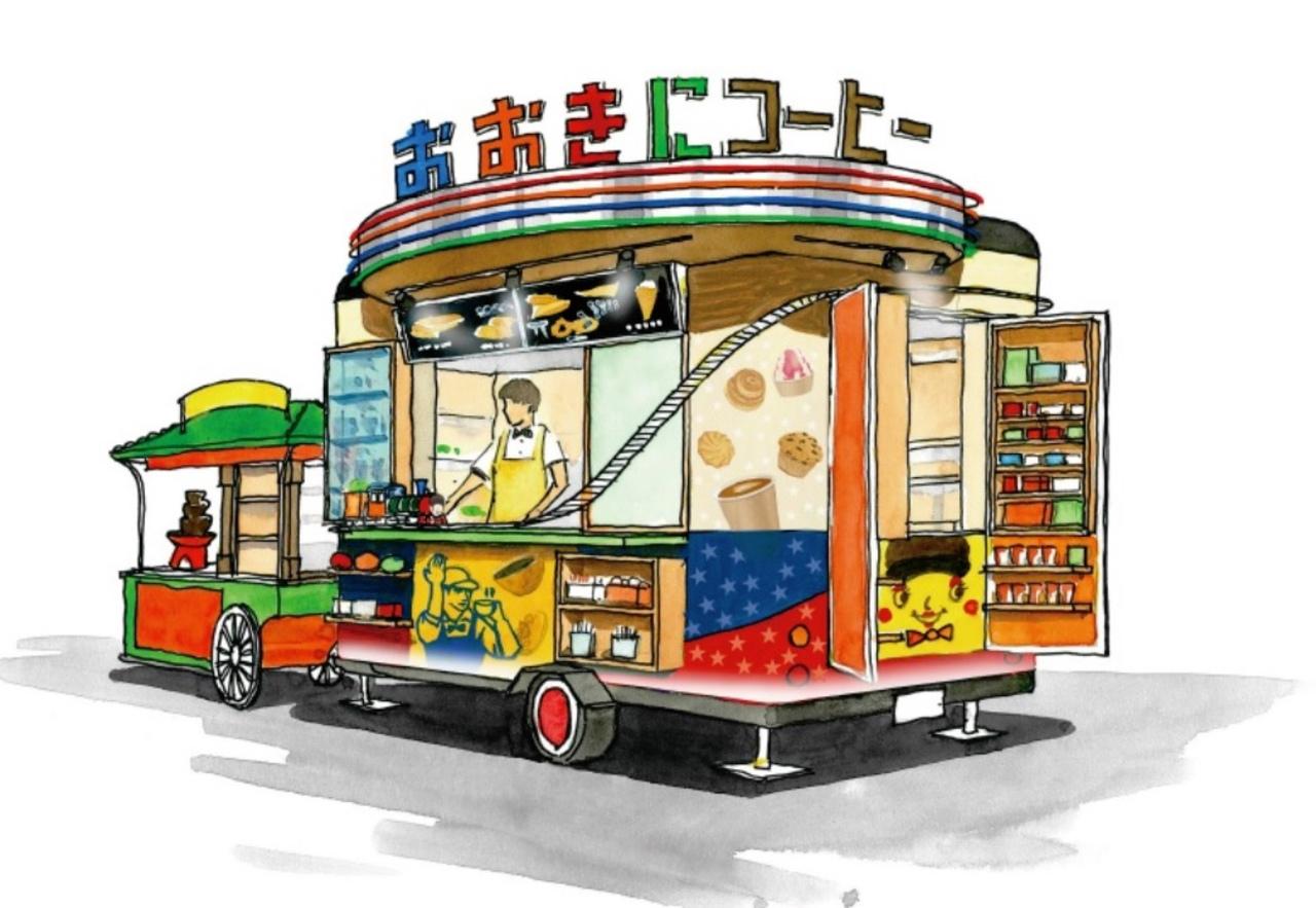 心斎橋アメリカ村のど真ん中に「おおきにコーヒー心斎橋アメリカ村店」がオープンされたようです。