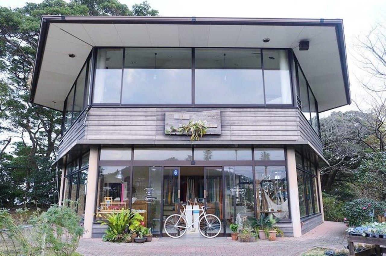 【 青島ハンモック 】ハンモックショールーム・カフェ(宮崎県宮崎市)