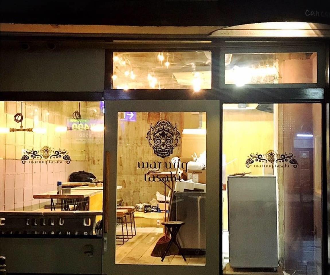 スパイスカレーのナシチャンプルとサンドイッチ...大分市府内町2丁目に「ワルンタサキ」オープン