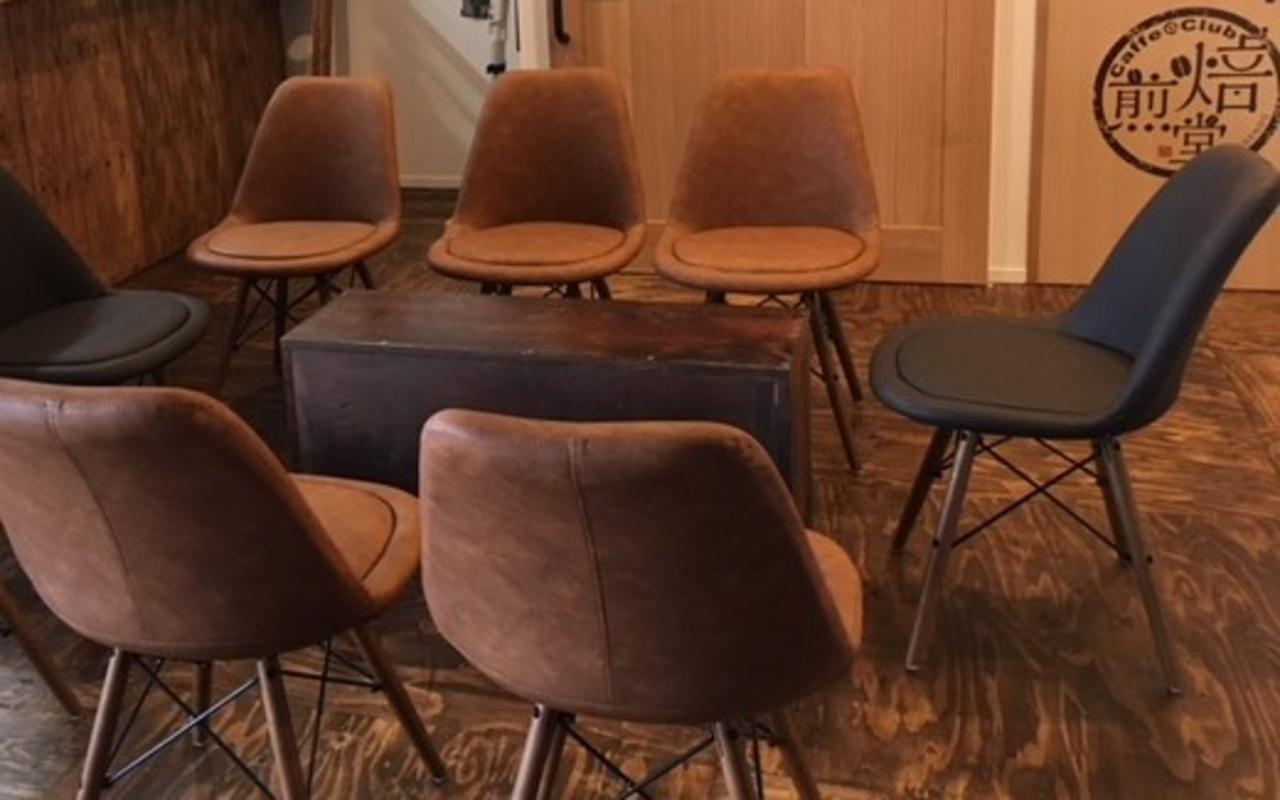 焙煎と試飲の店「Caffe@Club焙煎堂」オープン!