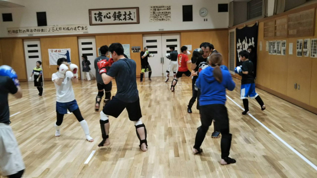 1109キックボクシング+空手道場 一信会館