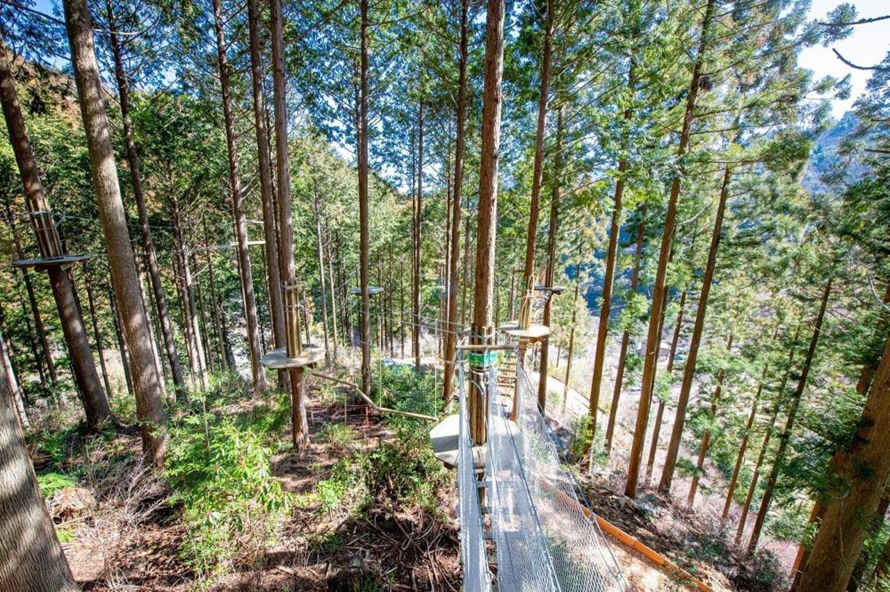 自然共生型アウトドアパーク...高知県高岡郡津野町に「フォレストアドベンチャー高知」3/20オープン