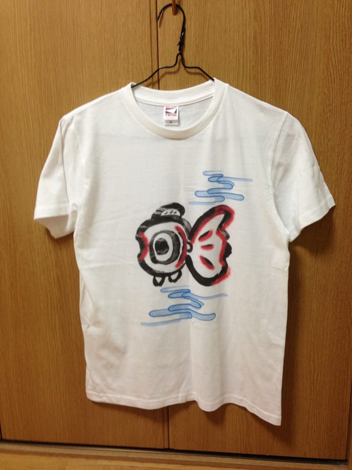 ふゆきんTシャツの販売を始めました