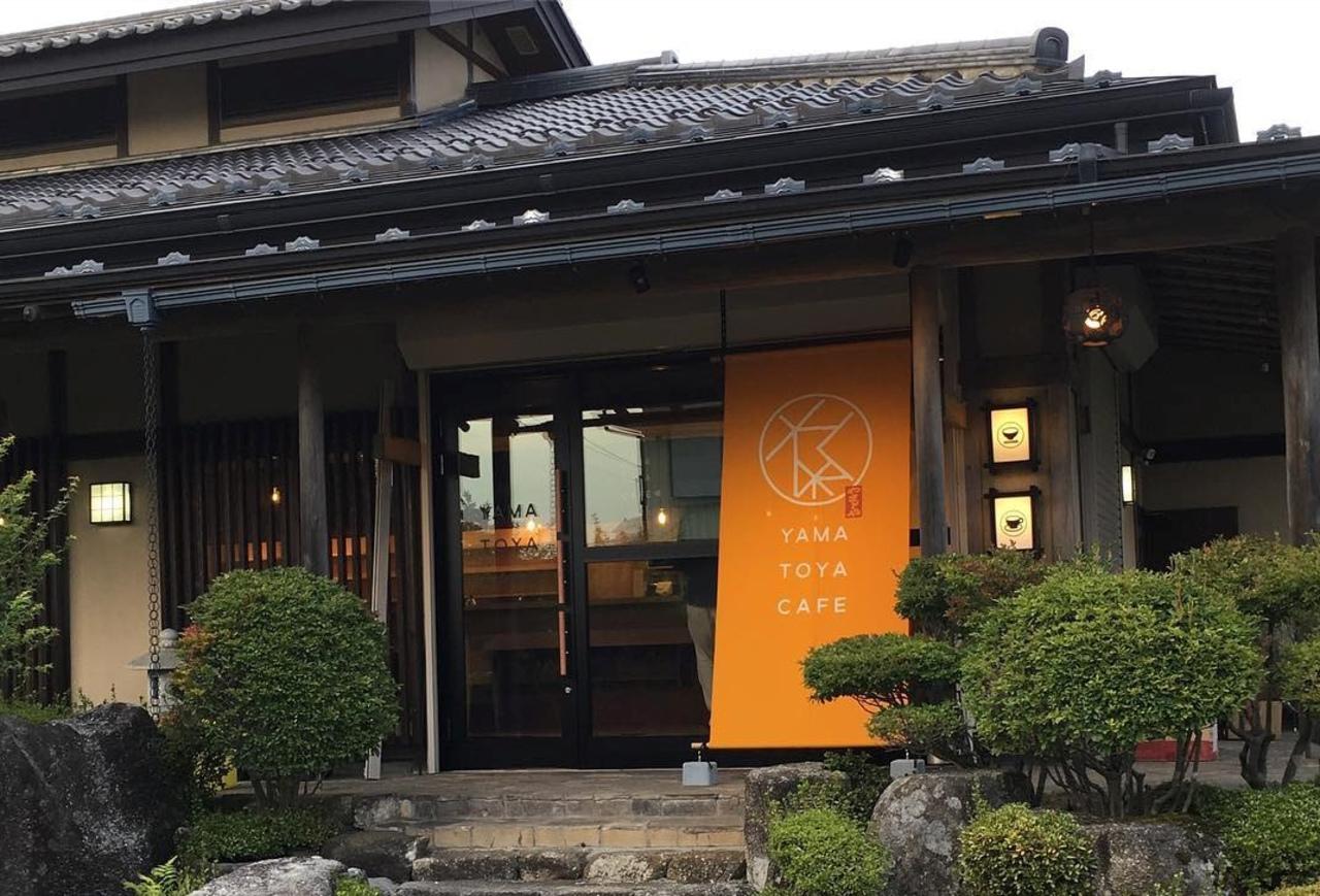 割烹料理屋の建物を改装...富士河口湖町船津に『YAMATOYA CAFE』10/26プレオープン