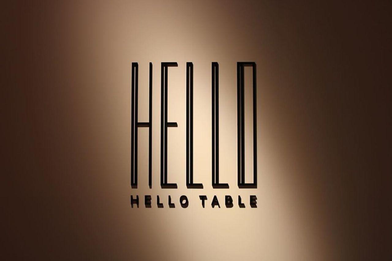 カフェ&創作バル...石川県金沢市片町のプレーゴに「ハローテーブル」本日オープン